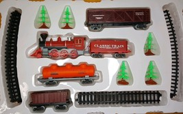Kids Stuff Classic Train Set Trees 15 Pieces Battery Operated Lights And... - $9.45