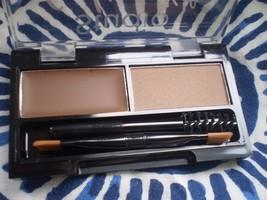 Miss Sporty Eyebrow Kit Brow Defining Wax + Powder 001 Medium Brown 2.4g - $5.05