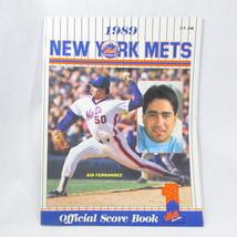 1989 New York Mets Official Shea ScoreBook July vs Reds NY MLB Baseball - $16.74