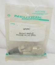 Neutrik NP2RC Right Angle Phone Plug 2POL Guitar Speaker image 1