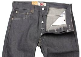 Levi's 501 Men's Original Fit Straight Leg Jeans Button Fly Gray 501-0631 image 2