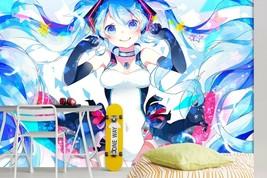 3D Color Star Girl T167 Japan Anime Game Wallpaper Mural Cartoon Zoe - $27.34+