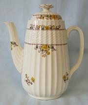 "Spode Buttercup Coffee Pot 7"",  5 Cup - $129.58"