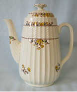 "Spode Buttercup Coffee Pot 7"",  5 Cup - $129.58"