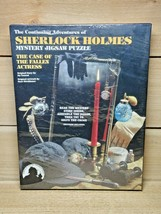 Sherlock Holmes Mystery Jigsaw Puzzle 04-0140-008 Factory Sealed - $16.82