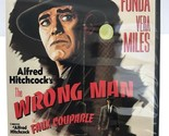 The Wrong Man ~ Alfred Hitchcock's Classic ~ Henry Fonda ~ LIKE NEW - FREE SHIP~