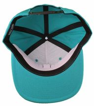 Hall Of Fame H Hound Wool Blend Embroidered Turquoise Snapback Baseball Hat Cap image 7