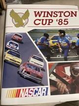 1985 NASCAR Winston Cup HTF Yearbook VGC Darrell Waltrip Champion Vintage - $19.80