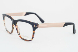 Tom Ford 5372 005 Black Tortoise Eyeglasses TF5372 005 54mm - $195.02