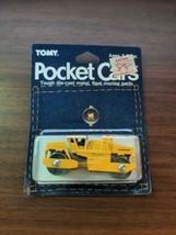 Vintage Tomy Pocket Cars yellow Dynapac CC21  #59 1/62 Unused on Card - $59.40