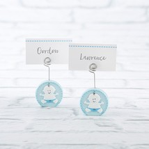 Baby Boy Blue Place Card Holder (4-Sets of 6)  - $43.99