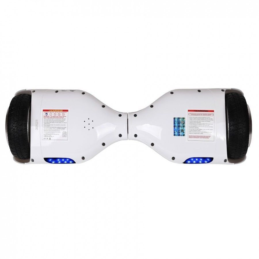 Classic White Hoverboard Two Wheel Balance Scooter w/ Free Fast Shipping