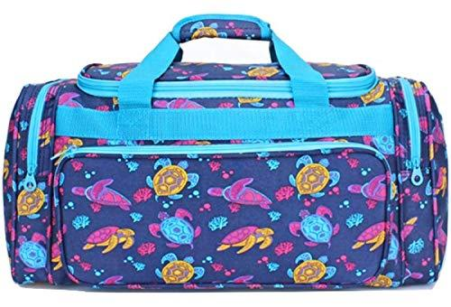 "23"" Turtle Print Duffle Bag Travel Luggage"