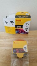 "Genuine Kodak 10C Ink ONLY Box Labeled "" 10C 10B Ink Combo Pack "" Ink Ca... - $21.31"