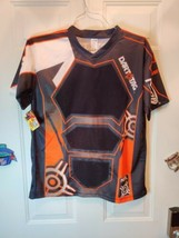 New Nerf Dart Tag Shirt Official Competition Jersey Orange / black Size L / XL - $12.10