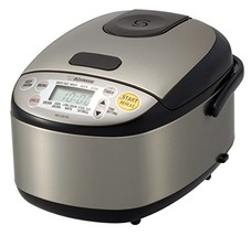 Zojirushi NS-LGC05XB Micom Rice Cooker & Warmer, 3-Cups uncooked, Stainl... - $145.90