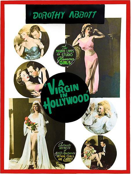 Primary image for A Virgin In Hollywood - 1953 - Movie Poster