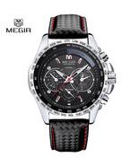 2016 Megir Watches men Business quartz watch man casual leather brand me... - $24.00