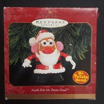 Hallmark Northpole Mr. Potato Head Santa Claus Ornament Christmas Holiday 1999 image 2