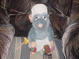 """15"""" Disney Talking Chef REMY Plush Ratatouille With Tags - $98.99"""