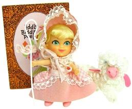 Vintage Mattel Liddle Kiddles Liddle Biddle Peep Complete w/Staff Sheep & Komic  - $124.99