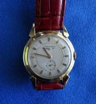 Rare Vintage Longines  Automatic Wristwatch men's  1950's Fancy Lugs cal 19A - $325.00