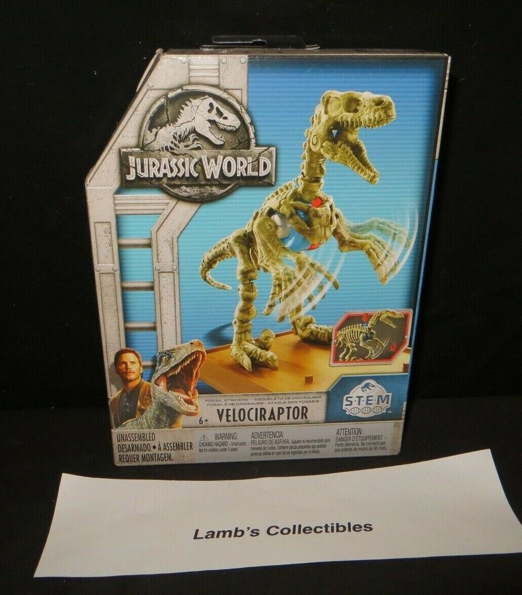 Primary image for Jurassic World Fossil strikers STEM velociraptor activity kit science building