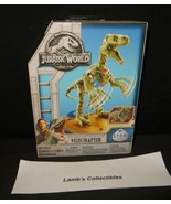 Jurassic World Fossil strikers STEM velociraptor activity kit science bu... - $35.70