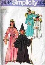 1976 Costume Pattern 7684-s Child's Size 6-8 - $7.99