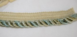 Conso 021970PR10JA Ocean Multi Color Lip Cord Trim 12 Yards image 1