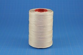 25m of BEIGE RITZA 25 Tiger Wax Thread for Leather Hand Sewing 4 Sizes Available - $5.00