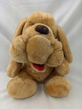 "Wrinkled Dog Plush Tan 14"" McCrory Corp Stuffed Animal Toy - $29.95"