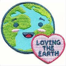 Cub Girl Boy LOVING THE EARTH Embroidered Iron-On Fun Patch Crests Badge... - $4.90