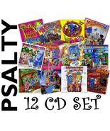 Psalty the Singing Songbook Kids Praise! & Christian Worship Songs CD Set of 12 - $179.95