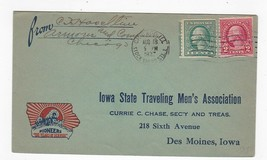 IOWA STATE TRAVELING MEN'S ASSOCIATION CHICAGO ILL AUGUST 18 1937  - $1.98