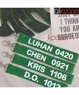KPOP EXO Key Chain CHEN Keyring KAI SEHUN DO SUHO BAEKHYUN LUHAN LAY KRI... - $0.99