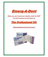 Emerg-A-Dent Professional Dental Emergency Repair Kit Worlds Most Comple... - $79.99