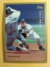 TOPPS 1999 CARD #138 WALT WEISS - $0.99