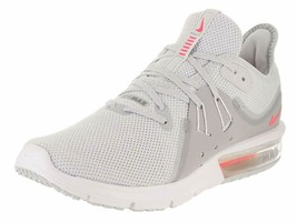 Nike Women's Air Max Sequent 3 Running Shoe Size 8.5 Colors Pure Platinum Racer - $79.46