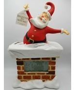 Hallmark Keepsake - Countdown to Christmas Santa Claus - Table Clock  - $118.75