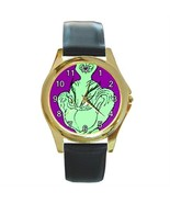 GRINCH WHO STOLE XMAS GOLD-TONE WATCH 3 OTHER STYLES - $25.99