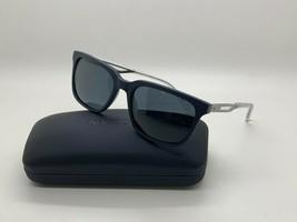 New Nautica N6230S 412  POLARIZED DARK BLUE Sunglasses 55mm w/Case - $44.59