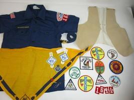 Vtg 1980's Lot Of Boy Cub Scout BSA Patches Badges Uniform Shirt Memorabilia  - $37.12