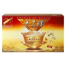 Prince of PeaceAmercian Ginseng Tea with Jasmine - Twin Pack (2 boxes X 30 sach - $26.72