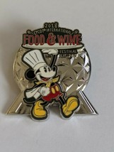 Mickey Mouse 2018 Epcot International Food And Wine Festival Limited Rel... - $19.79