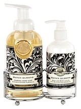Michel Design Works Foaming Hand Soap and Lotion Caddy Gift Set, Honey (... - $38.25