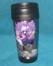 DISNEY STORE Jack Skellington Aluminum Sports Bottle. Brand New. Authent... - $18.69