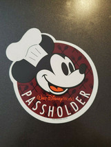 Authentic Disney Annual Passholder Chef Mickey Magnet Food and Wine Festival - $17.00