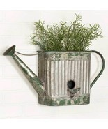 Wall Planter Watering Can Rustic Vintage Country Farmhouse Bathroom Home... - £35.08 GBP
