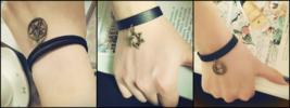 Punk rock version 3 bracelet for female full set *Free Shipping* - $13.20